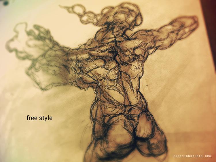 CRDESIGNSTUDIO.ORG- STORYBOARD ARTIST Sketchbook - SOME EXTREME VIOLENCE AND NUDITY..